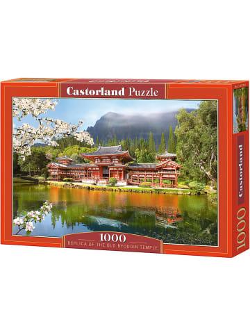 Castorland Puzzle 1000 Teile Nachbildung des alten Byodoin Tempels