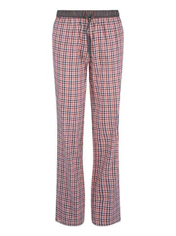 Luca David Pyjama-Pants Olden Glory in Blau/Rot
