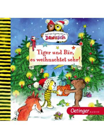Verlagsgruppe Oetinger CD Tiger und Bär - Tiger und Bär, es weihnachtet sehr