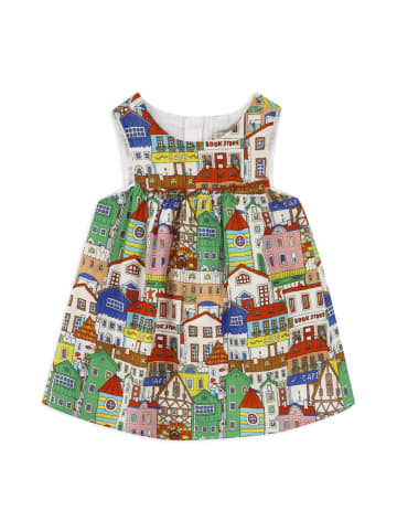 Panco Kleider - mit Hausmuster - für Mädchen in Grün