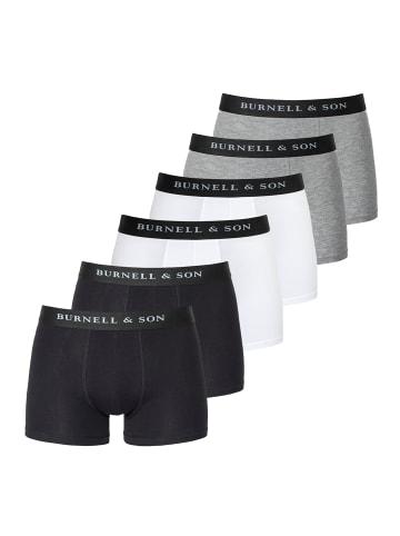 Burnell & Son Pants / Shorts 6er Pack - Basic in Mix