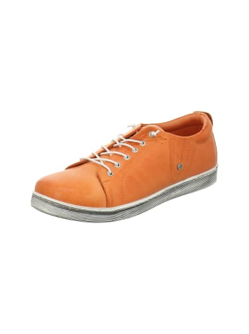 Esgano Schnürschuhe in orange