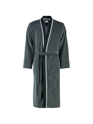 Cawö Bademäntel Kimono 4839 in silber/schwarz - 79