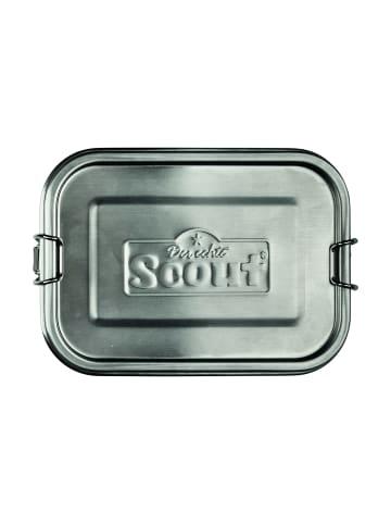Scout Zubehör Edelstahl-Essbox Brotdose 17 cm in edelstahl