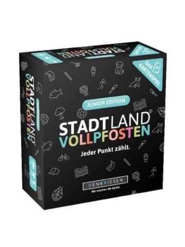 DENKRIESEN Denkriesen - Stadt Land Vollpfosten® - Das Kartenspiel - Junior Edition (Spiel)