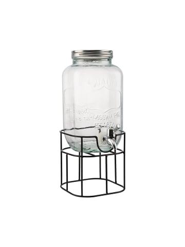 Butlers Getränkespender 2-teilig REFRESH in transparent