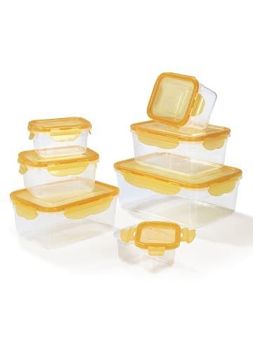 HOBERG 14tlg. Set: Frischhaltedosen in Mango
