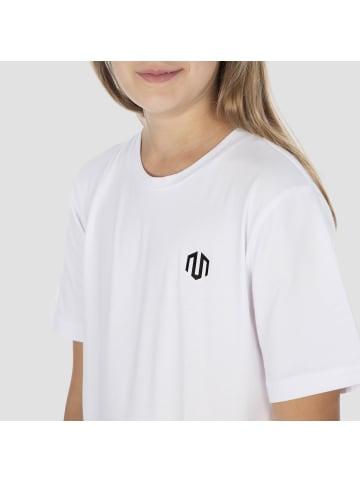 MOROTAI T-Shirt Kids Unisex Logo Jersey in Weiß