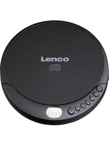 Lenco CD-010 - Portabler CD-Spieler mit Akku-Ladefunktion, schwarz