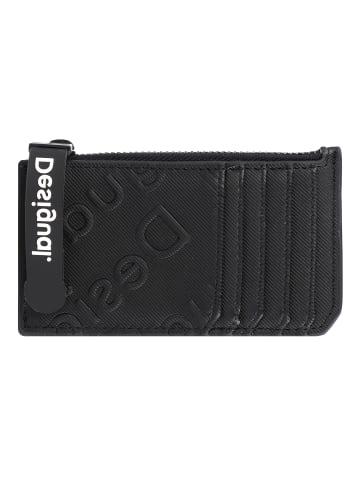 Desigual Colorama Kreditkartenetui 13 cm in negro