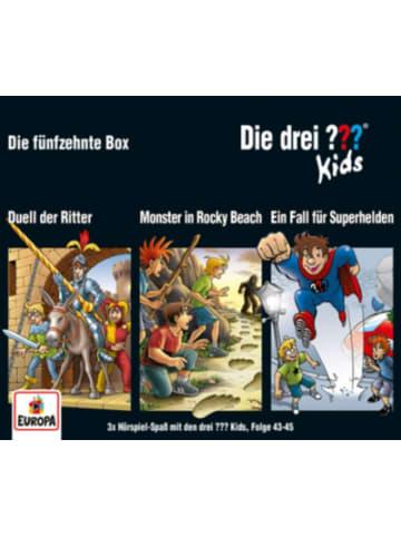 Sony CD Die drei ??? Kids - 3er CD-Box 15 (Folgen 43,44,45)