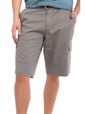 Way of Glory Cargo Shorts mit angenehmer Tragekomfort in grau