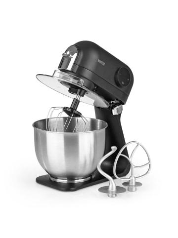 N8WERK Küchenmaschine in Schwarz / Silber
