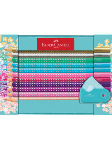 Faber-Castell Geschenkset Buntstifte Sparkle, 21-tlg. inkl. Anspitzer