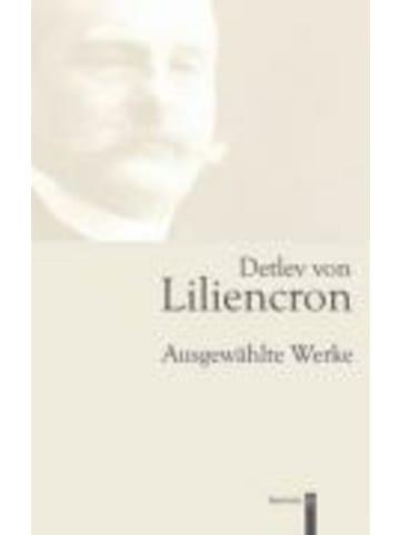 Wachholtz Detlev von Liliencron | Ausgewählte Werke