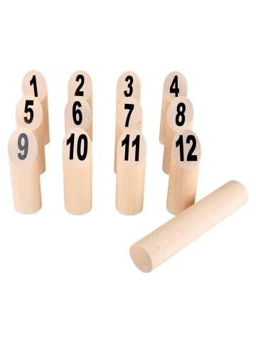 Small foot Wikingerspiel Kubb Nummern in holz