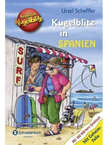 EGMONT Schneiderbuch Kommissar Kugelblitz - Kugelblitz in Spanien