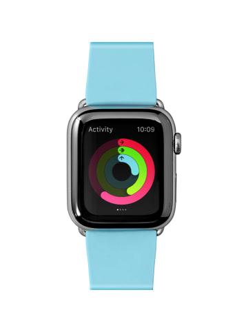"""Laut Armband """"Pastels baby blue"""" für Apple Watch 42mm in blau"""