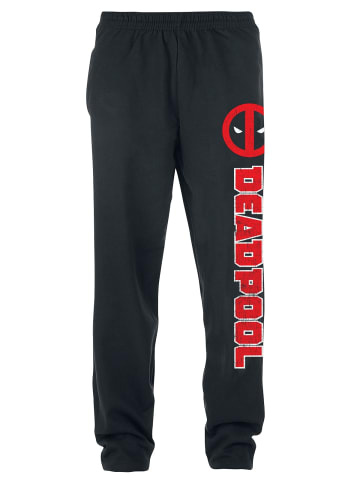 Marvel Jogginghose Deadpool Deadpool Symbol in schwarz