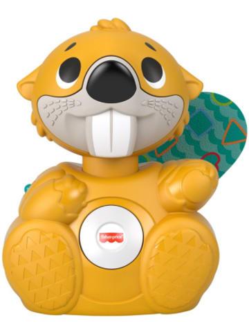 Mattel Fisher-Price BlinkiLinkis Biber, Spielzeug mit Musik, Lernspielzeug