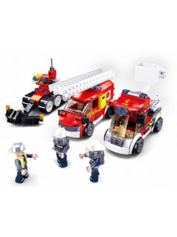 Sluban Feuerwehr Set (488 Teile)