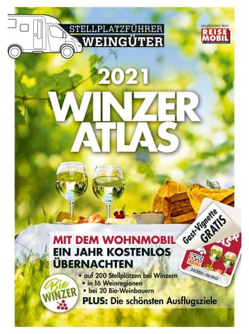 Medien WINZERATLAS 2021   Wohnmobil-Stellplatzführer Weingüter