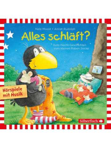 Rabe Socke CD Der kleine Rabe Socke Alles schläft Gute Nacht-Geschichten (Hörspiele...