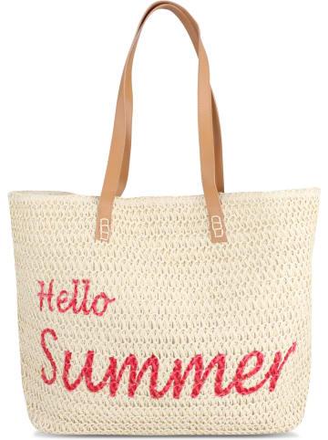 Normani Sommer-Umhängetasche, Strandtasche in Hello Summer