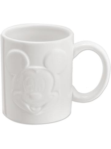 JOY TOY Mickey Mouse Relief-Tasse, weiß
