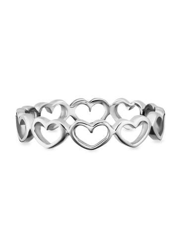 Caï Ringe 925/- Sterling Silber in weiß