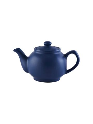Price&Kensington Teekanne, matt blau, 2 Tassen
