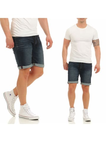 Authentic Style Shorts in blau