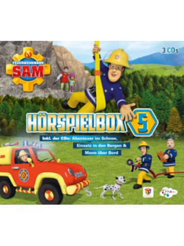 Just Bridge Entertainment CD Feuerwehrmann Sam CD-Box Vol.5