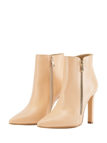 Faina Ankle Boots in Nude