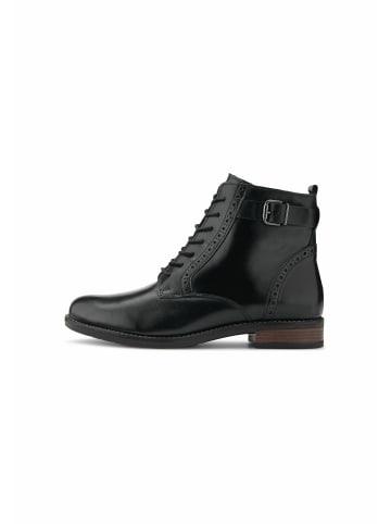 COX Schnürstiefeletten Schnür-Boots in schwarz