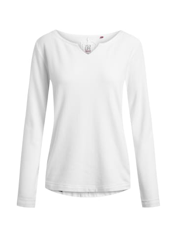 Shirts for Life Sweatshirt Parma in weiß