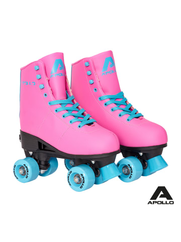 "Apollo Retro Rollschuhe "" Classic Roller - Disco "" in Funky - Pink"