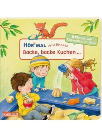 Carlsen Hör mal (Soundbuch): Verse für Kleine: Backe, backe Kuchen ...