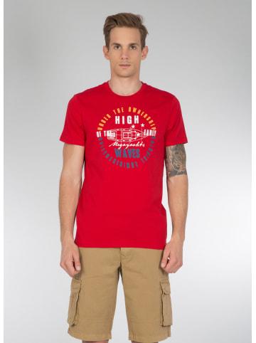 Colin's T Shirt mit modischem Druck in red