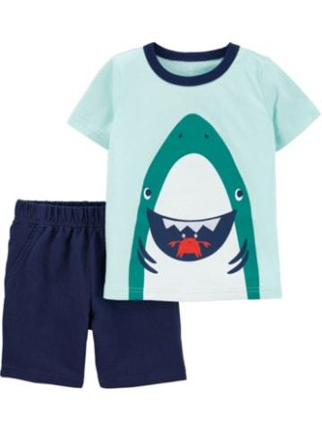 Carter's Set T-Shirt+Shorts , Unterwasserwelt