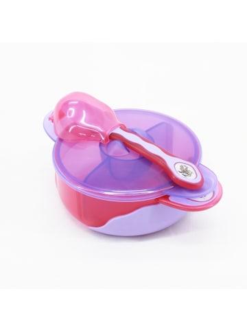 Vital Baby Baby-Set mit Unterteiler in Lila/Pink