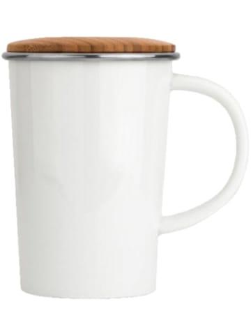 "Bredemeijer Porzellan Teebecher ""Bamboo"" mit Teesieb, 0,4l"