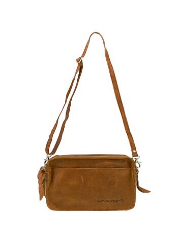 Cowboysbag Umhängetasche Leder 20 cm in oak
