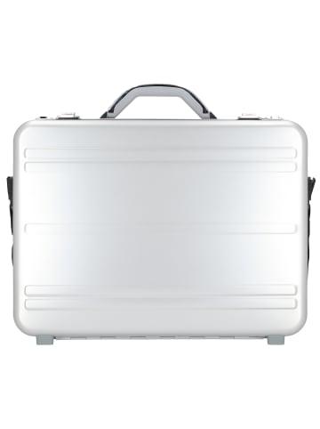 Alumaxx Aktenkoffer 45 cm Laptopfach in silber