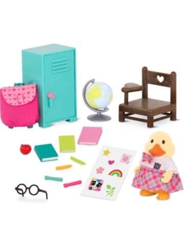 Li'l Woodzeez Schul- und Schreibwaren Set mit Ente