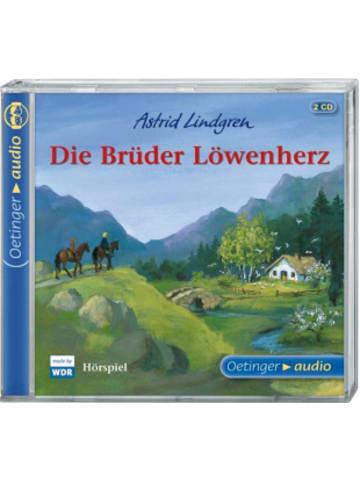 Verlagsgruppe Oetinger Die Brüder Löwenherz, 2 Audio-CDs