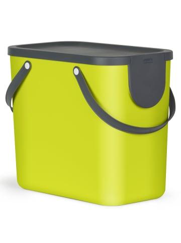Rotho Albula Mülltrennungssystem 25l in grün/anthrazit