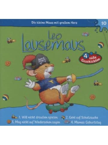 Kiddinx Media Leo Lausemaus - Will nicht draußen spielen, Audio-CD