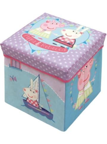 Peppa Pig 2 in 1 Sitzhocker Peppa Pig mit Ablagebox