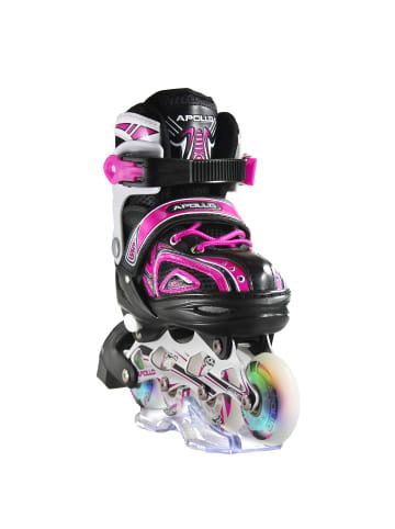 """Apollo Inline Skates """" Super Blades X-Pro """" in pink"""